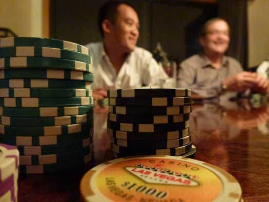 Poker Night with Van Tharp