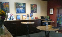 Break Area at Van Tharp Institute
