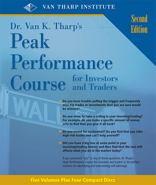 Peak Performance Home Study Course for Traders by Dr. Van K. Tharp