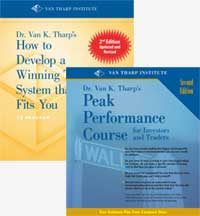 How to develop a winning trading system home study audio program by van tharp