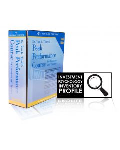 Peak Performance Home Study WITH Investment Psychology Inventory Profile. One click purchase for both items. Many people buy the profile as an aid for use with the Peak Home Study.